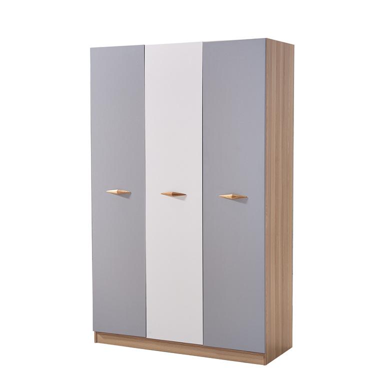 對開門板式彩色衣柜01-3