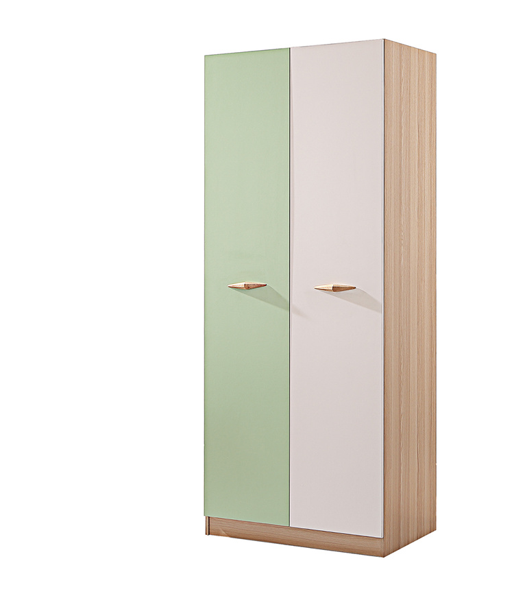 對開門板式彩色衣柜01-4