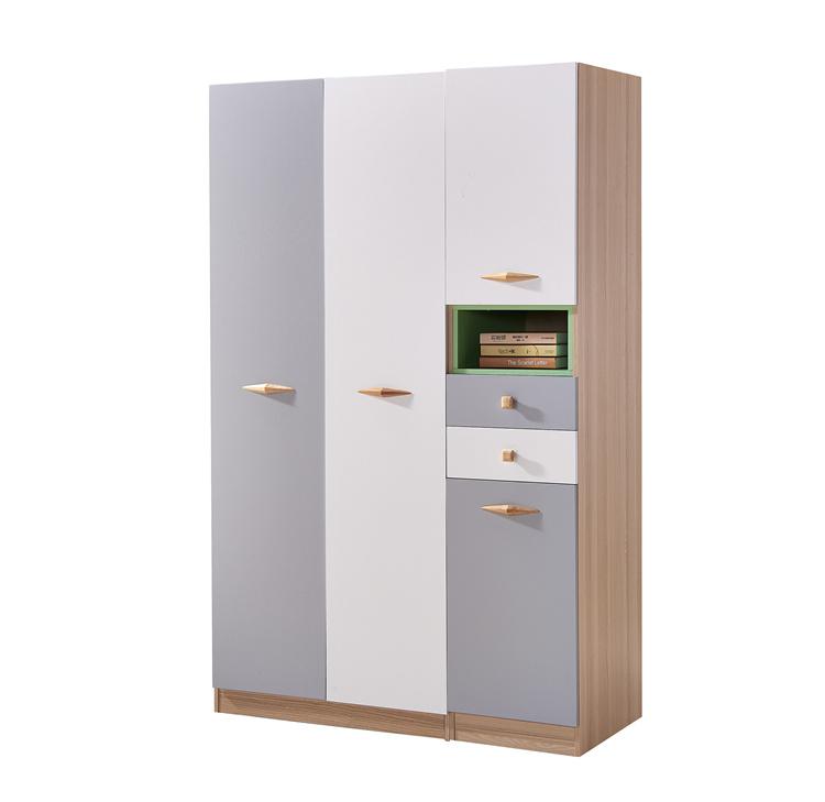 对开门彩色板式衣柜02-3
