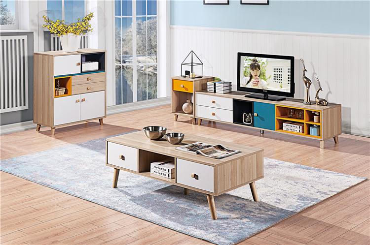 板式電視柜+茶幾組合02