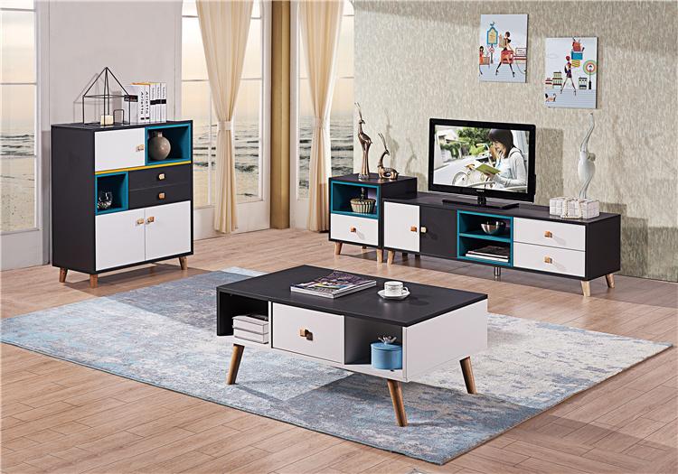 板式电视柜+茶几组合02-3