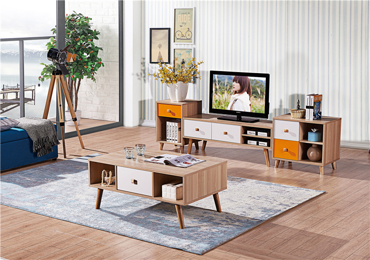 板式電視柜+茶幾組合01